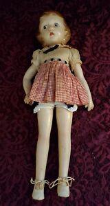 "Vintage Madame Alexander ""Wendy-Ann"" Swivel Waist Composition Doll 13"" Nice"