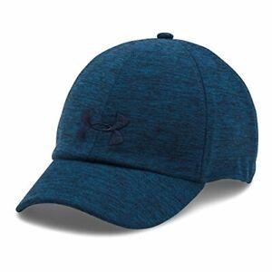 Under Armour UA 1291072 Womens Heather Renegade Cap BASEBALL HAT BLUE 997