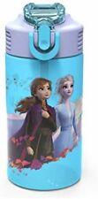 FROZEN 2 ANNA ELSA DISNEY Zak! No Leak BPA-Free Plastic 16 oz. Water Bottle NWT