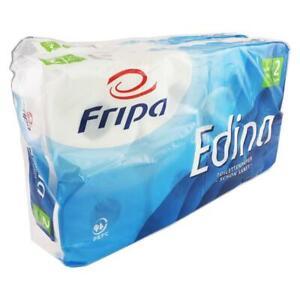 16 Rollen x 400 Blatt  Toilettenpapier Klopapier WC-Papier doppellagig hochweiß