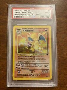 2002 Pokemon Charizard Legendary Collection - Holo 3/11- PSA 9