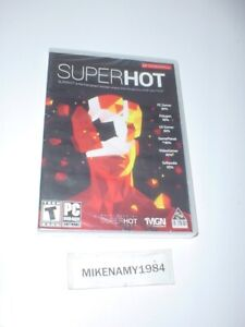 New SUPER HOT fps game for PC - Physical Disc SUPERHOT - FACTORY SEALED