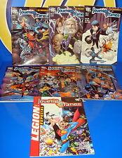 Lot de bandes dessinées TEEN TITANS numéros 1 au 6 + spécial Légion