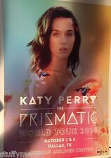 KATY PERRY RARE Prismatic Tour VIP Lithograph Poster Limited Dallas TX & COA