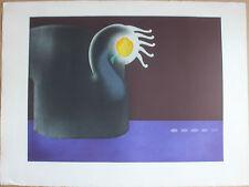 Gravure eau-forte de Sonja HOPF S/N cinq personnes 1970 surréalisme Hara-Kiri*