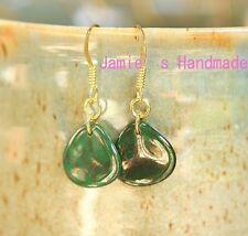 MoonDust Green Earrings Green Jewelry for Summer Jewelry Bridesmaid Gift