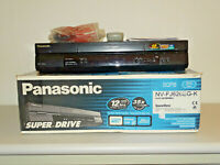 Panasonic NV-FJ626 VHS Videorecorder Schwarz in OVP inkl. FB, 2 Jahre Garantie