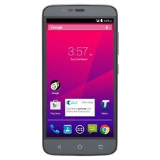 "ZTE Telstra 4GX Plus A462 4G 5.0"" Quad-core) Grey Unlocked"