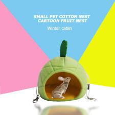 Fruit Guinea Pig Hedgehog Cotton House Pet Squirrel Winter Warm Nest Bed