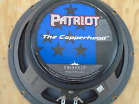 "EMINENCE 10"" PATRIOT COPPERHEAD 75 watt GUITAR AMPLIFIER 8 ohm SPEAKER for AMP"