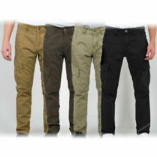 New Alpha Industries Agent Cargo Pant Flat Leg Pockets Army Trousers Cotton  new