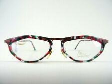 Fetzig bunte Damenbrille FILOU Kunststoffgestell Cateyeform ausgefallen  Gr. M
