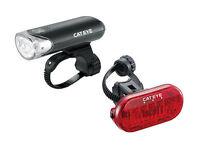 CATEYE EL135/LD135 COMBO Front & Rear COMBO Tail Head Light Set LED Bike
