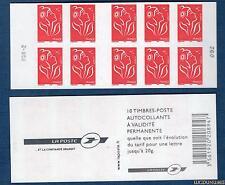 Carnet - 3744 C8 - RGR-2 - Type Marianne de Lamouche - TVP rouge N° 3744 - NEUF