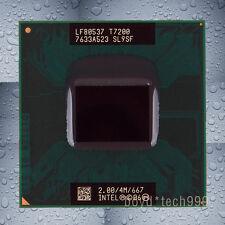 Intel Core 2 Duo T7200 CPU 2 GHz 667 MHz Socket M Socket 479 Socket 478/N