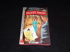 "Perma Books M-3113 1958 PBO Ed McBain/Evan Hunter ""KILLER'S PAYOFF"" VG+"