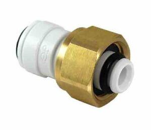 "Pack of 10 John Guest JG 3/8"" x 1/2 bsp Coupler Fittings Keg Gas Inlet Adaptor"
