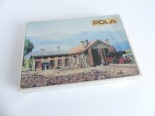 POLA N - 210;. MAQUETTE A CONSTRUIRE DEPOT DE LOCOMOTIVES AVEC 2 PORTES