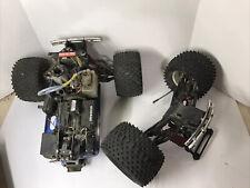 Vintage Traxxas Tmaxx 2.5 1/10 Nitro Rc 4x4 Monster Truck as-is. Parts Or Repair
