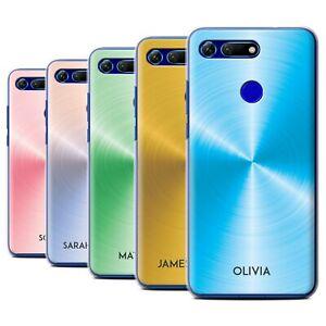 Personalised Custom Printed Brushed Metal Effect Case for Huawei Honor View 20
