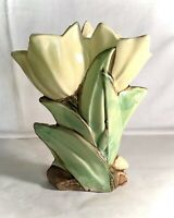 "McCoy Flower Form Double Tulip 8"" Vase"