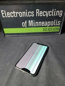 Apple iPhone X MQAK2LL/A (Silver 64GB) AT&T CRACKED REAR GLAS