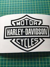Harley Davidson Motor ciclo Logo Decal Sticker Negro O Blanco