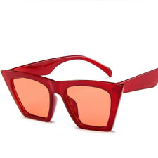 Fashion Women Ladies Oversized Sunglasses Vintage Retro Cat Eye Sun Glasses
