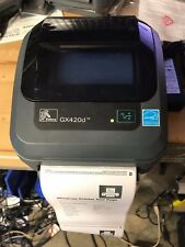 Zebra GX420D  Label Thermal Barcode Printer~~Power supply included~~