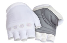 Rapha White Classic Mitts w/Silver Hands. Size XS. BNWT.