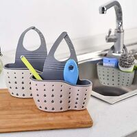 Hanging Storage Drain Basket Portable Sink Organizer Rack Sponge Holder Kitchen