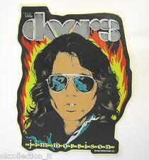 VECCHIO ADESIVO ORIGINALE / Old Sticker band THE DOORS JIM MORRISON (cm 12x15)