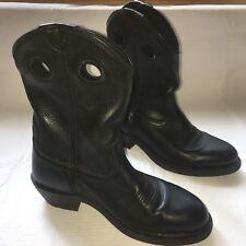 ARIAT Sz 9EE Men's HAND BLACK DEERTAN 10009596 Cowboy Boots M1