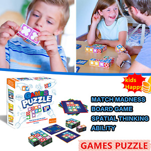 Games Puzzle Board Game Children Matching Toys Intelligence Development Toy Kit