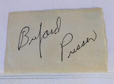 BUFORD PUSSER's Autograph