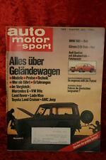AMS 8/80 * BMW 732i Mercedes 240 GD VW Iltis Jeep CJ7 Audi Quattro Land Rover