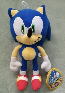 "Brand New! Sonic the Hedgehog Large 12"" Inch Plush Stuff Animal License SEGA USA"
