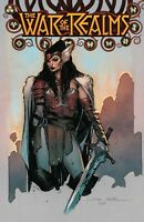 WAR OF THE REALMS 1 OLIVIER COIPEL VARIANT THOR AVENGERS IRON MAN PRE-SALE 4/3