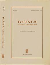 Roma - anno II, n. 3-settembre-dicembre 1994