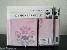 DESIGNERS GUILD - SUKUMALA (BERRY) - PAIR HOUSEWIFE PILLOWCASES STANDARD PINK