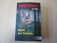 R. L. Stine - FEAR STREET - NACHT DER SCHREIE - Doppelband - TB