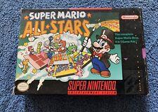 Super Mario All-Stars (Super Nintendo SNES, 1993) Authentic Complete CIB MINT
