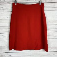 Kate Spade Womens Delphina A-line Skirt Size 6 Red Knee Length Wool Blend