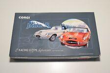 ^^^ 1:43 CORGI TOYS 97701 JAGUAR GIFT SET SUPERCATS E-TYPE RED GREY MINT BOXED