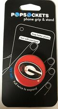 NEW PopSockets Georgia Bulldogs UGA Pop Socket iPhone Phone Holder Grip Stand
