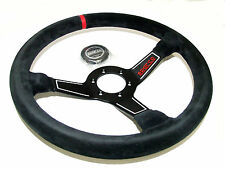 Sparco Steering Wheel - L575 (350mm/63mm Dish/Suede)