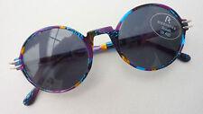 Rodenstock bunte Damen Sonnenbrille fast rund Vintage Sunglasses UV400 Marke