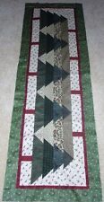 CAN'T SEE THE FOREST FOR THE TREES TABLE RUNNER QUILT PATTERN~CHRISTMAS~YEAR 2