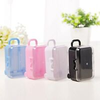 mini roller travel suitcase candy box personality creative wedding candy boxV6Z9
