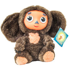 Russian Soft Toy Cheburashka Plush Doll Soviet Cartoon Brand Чебурашка 18cm//7''